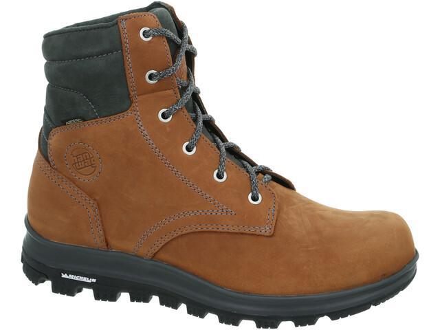 Hanwag Anvik GTX Zapatillas Hombre, light brown/asphalt